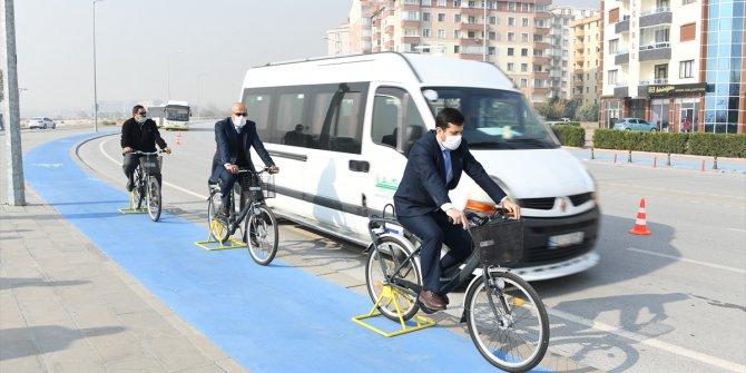 Bisiklet şehri Konya'da sürücülere empati eğitimi
