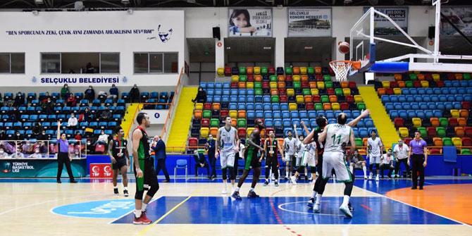 Konyaspor Basketbol'dan önemli galibiyet!
