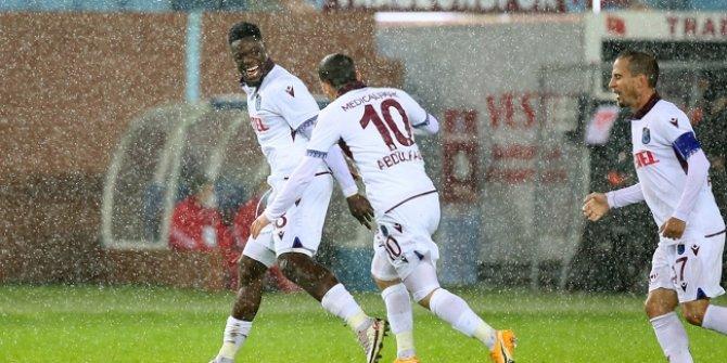 Trabzonspor hasreti bitirdi