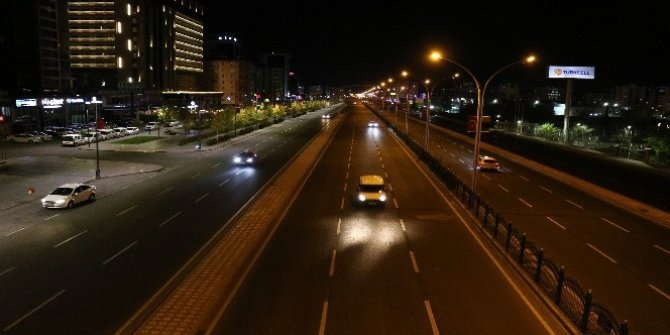 Konya, Aksaray, Karaman ve Afyonkarahisar'da sokağa çıkma kısıtlaması başladı