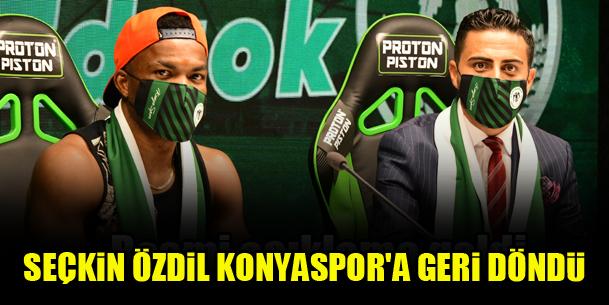 Seçkin Özdil Konyaspor'a geri döndü