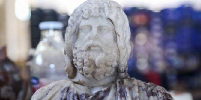 Kibyra Antik Kenti'nde Yunan ve Mısır tanrısı heykelleri bulundu