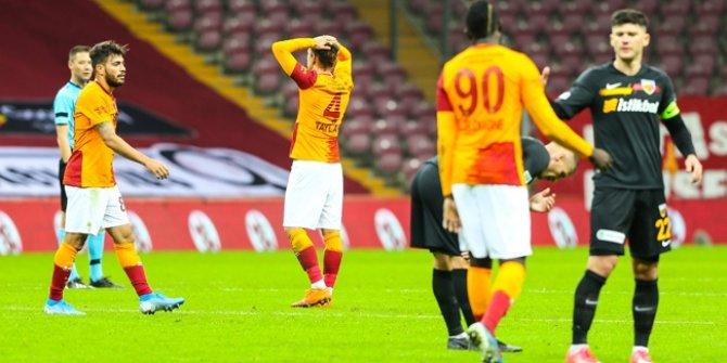 Galatasaray'da seri bozuldu