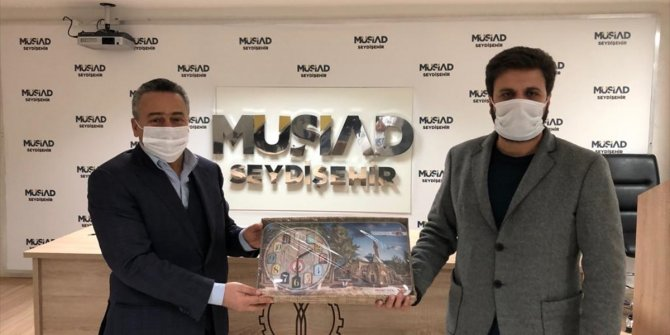 Seydişehir Belediye Başkanı Tutal'dan, MÜSİAD'a ziyaret