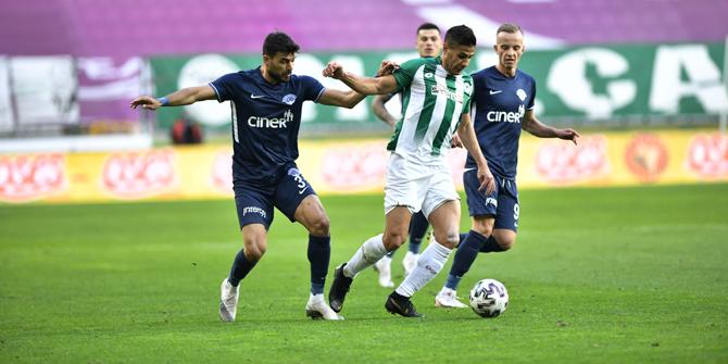Konyaspor'da Alper'in 3 puan mutluluğu