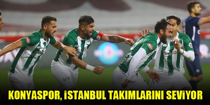 Konyaspor, İstanbul takımlarını seviyor
