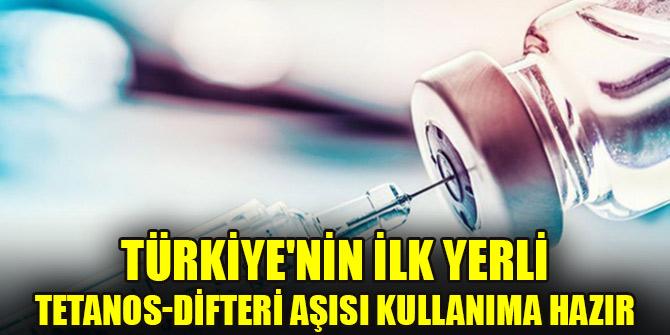 Türkiye'nin ilk yerli Tetanos-Difteri aşısı kullanıma hazır
