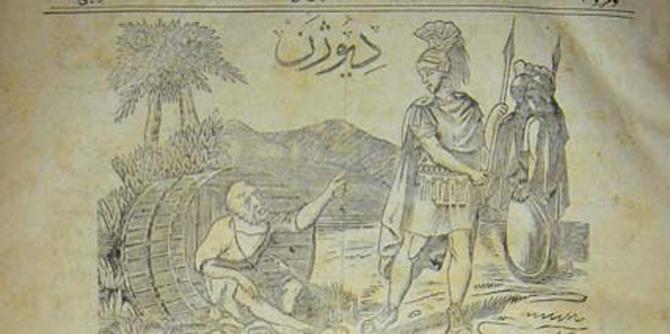 Tarihimizin ilk mizah dergisi Diyojen