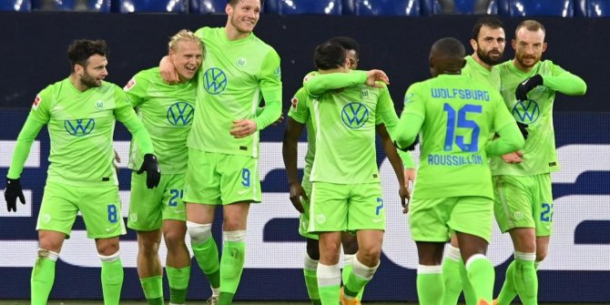 8 gollü maçta Wolfsburg 3 puanın sahibi oldu