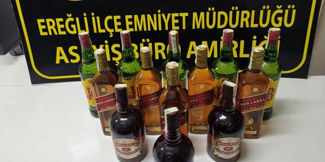 Konya'da kaçak içki operasyonu