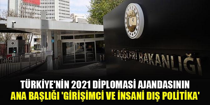 Türkiye'nin 2021 diplomasi ajandasının ana başlığı 'Girişimci ve İnsani Dış Politika'
