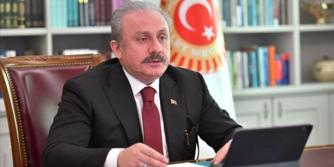 TBMM Başkanı Şentop, İskeçe Müftüsü'ne yapılan saldırıyı kınadı