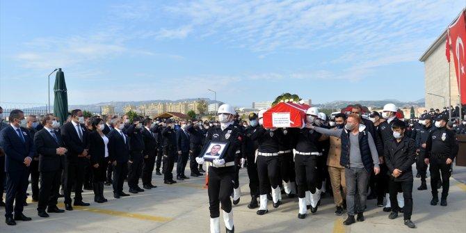 Konya Emniyet Müdürü Mustafa Aydın, Anamur şehidinin cenazesine katıldı