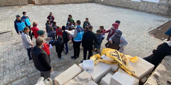 Konya Yesevi Yardım Hareketi'nden Taşkale'de yardım faaliyeti