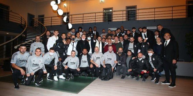 Ahmet Nur Çebi, takımı kutladı ve dedi ki