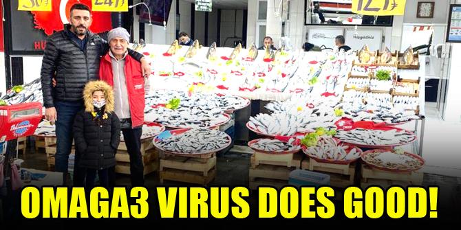 Omaga3 virus does good!