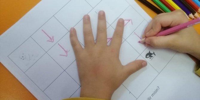 Öğrenciler okul öncesinde uzaktan eğitimle dijital kodlama öğreniyor