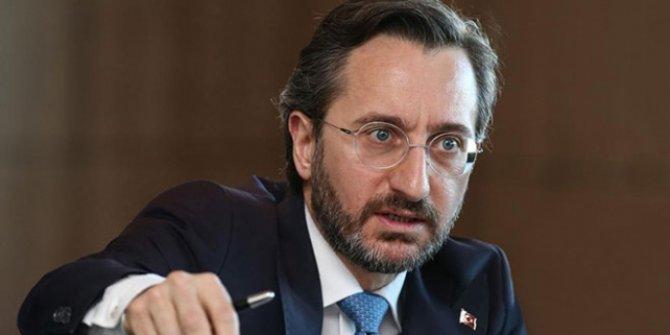 İletişim Başkanı Altun'dan Kılıçdaroğlu'na tepki