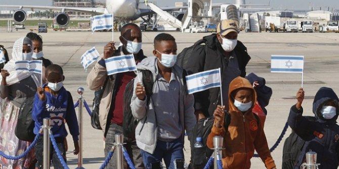 300'den fazla Etiyopyalı Yahudi, İsrail'e getirildi
