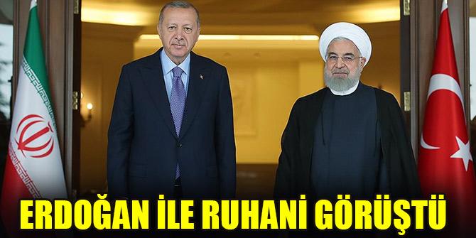 Erdoğan ile Ruhani görüştü