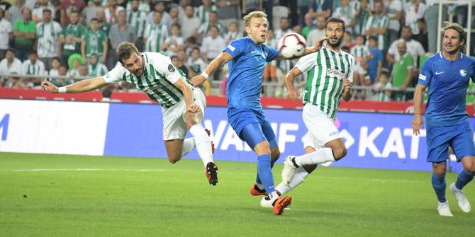 Konyaspor'dan Erzurumspor'a karşı 2 maçta da 3 puan
