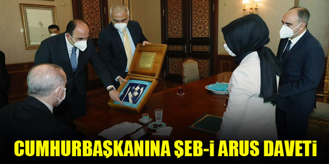 Cumhurbaşkanı Erdoğan'a Şeb-i Arus daveti
