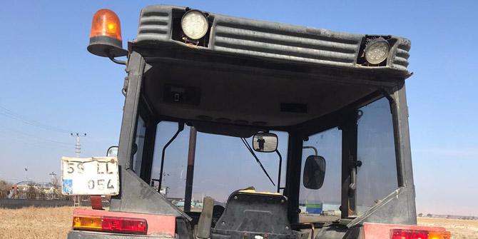 Tekirdağ'dan çalınan traktör Konya'da bulundu