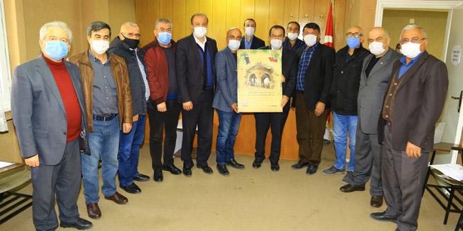 Hadim'de hayırsever işadamı dairesini belediyeye bağışladı