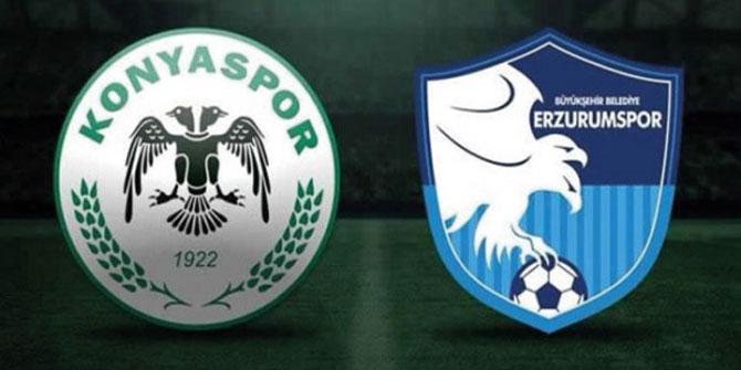 Konyaspor - BB Erzurumspor | İLK 11'LER!