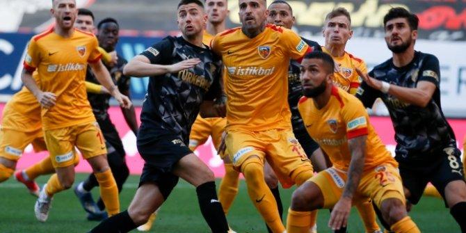 Göztepe ile Kayserispor puanları paylaştı