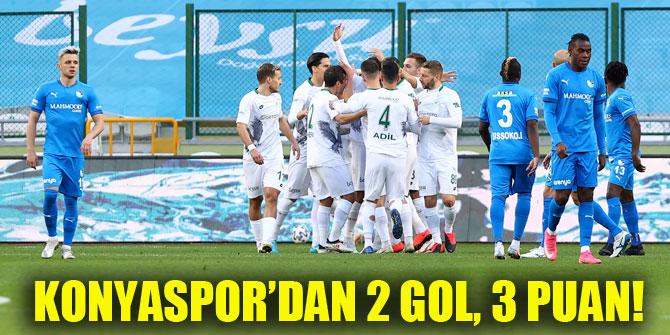 Konyaspor'dan 2 gol, 3 puan!