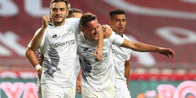 Konyaspor performansıyla göz dolduruyor