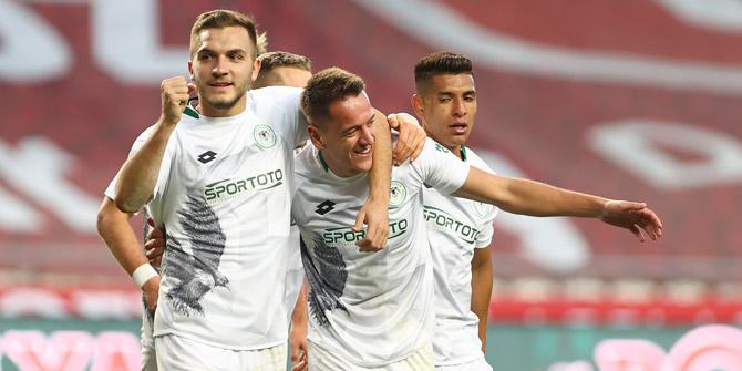 Konyaspor'dan Amir haftanın ilk 11'inde