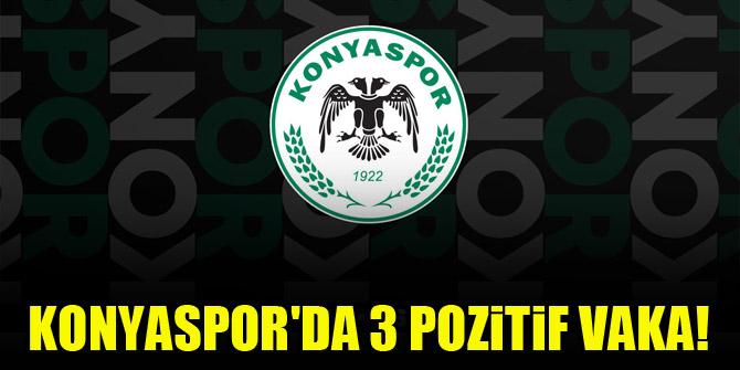Konyaspor'da 3 pozitif vaka!