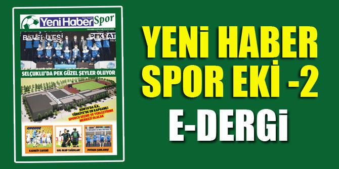 Yeni Haber Spor Eki -2 | E Dergi