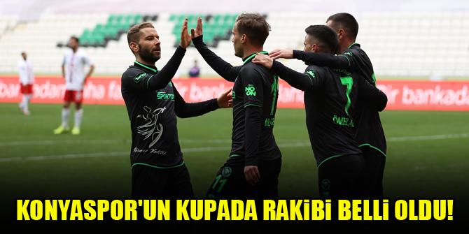 Konyaspor'un kupada rakibi belli oldu!