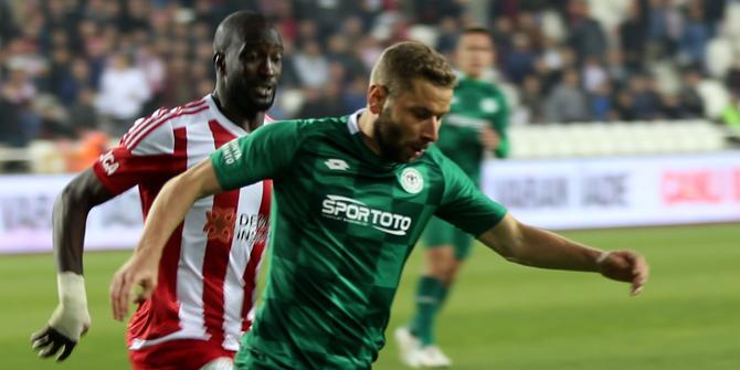 Konyaspor-Sivasspor rekabetinde en golcü Skubic