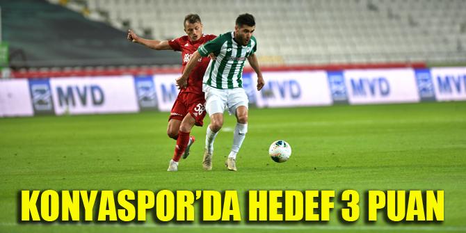 Konyaspor'da hedef 3 puan