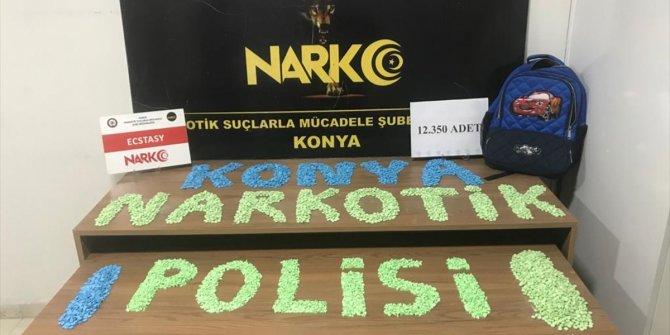 Konya'da uyuşturucu operasyonunda 3 şüpheli yakalandı