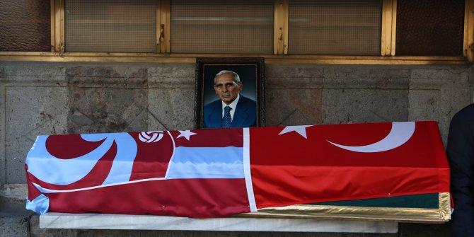 Eski Trabzonspor Kulübü Başkanı Özkan Sümer son yolculuğuna uğurlandı