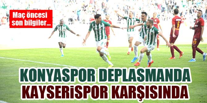 Konyaspor deplasmanda Kayserispor karşısında