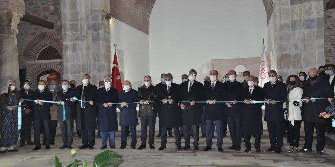 Restorasyonu tamamlanan Konya Akşehir Taş Eserler Müzesi açıldı