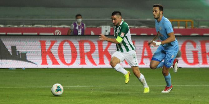 Konyaspor'un Rizespor'la puanları eşit