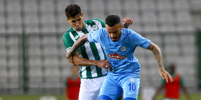 Konyaspor'dan Rizespor'a karşı 8 galibiyet