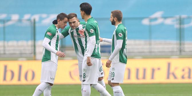 Konyaspor'da Amir ikinci golünü attı