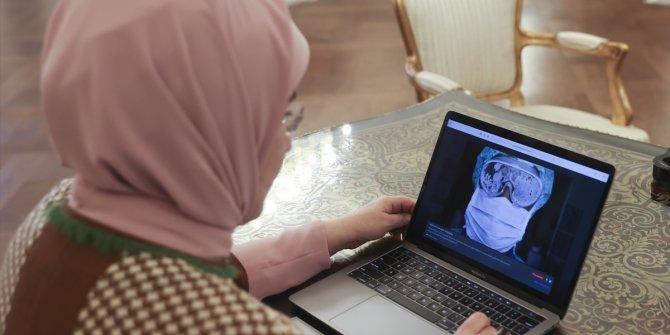 """Emine Erdoğan AA'nın """"Yılın Fotoğrafları"""" oylamasına katıldı"""