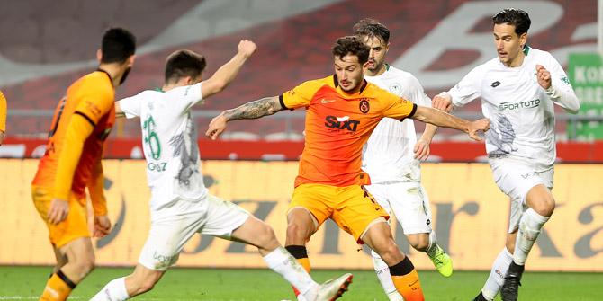 Konyaspor'dan Galatasaray'a karşı 17 yıl sonra galibiyet