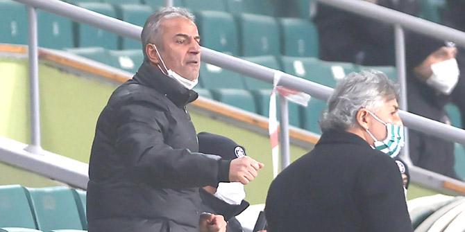 Konyaspor Teknik Direktörü İsmail Kartal PFDK'ya sevk edildi
