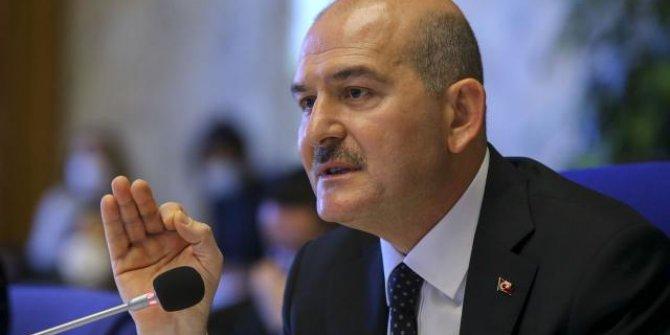 """Bakan Soylu: """"Devlet Bahçeli'nin ifadelerine tahammül edemeyen Twitter'ın tutumunu kınıyoruz"""""""