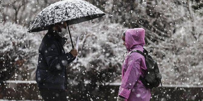 Meteoroloji'den 15 il için turuncu alarm! Kuvvetli kar yağışı...